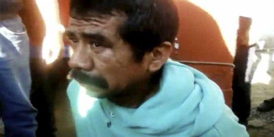 México se harta de los pedófilos: lo queman vivo por violar y asesinar a una niña de 6 años