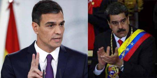 4 datos que demuestran que Pedro Sánchez ha convertido a España un bastión de la dictadura chavista