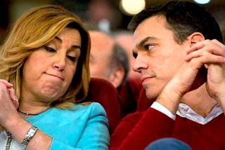 """Susana Díaz suplica a Pedro Sánchez que le perdone la vida y la deje seguir en el cargo: """"Yo me equivoqué"""""""