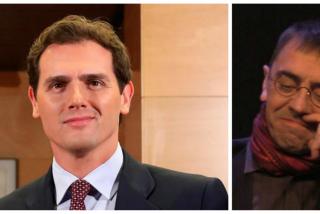"""Albert Rivera gana el juicio al tuitero que le llamó """"cocainómano"""" pero las redes le recuerdan que se arrugó con Monedero"""