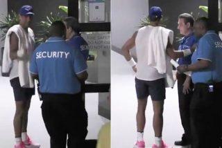 Open de Australia: Rafa Nadal, retenido por seguridad al no tener su acreditación