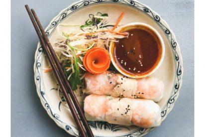 Receta de goi cuon o rollitos de primavera vietnamitas