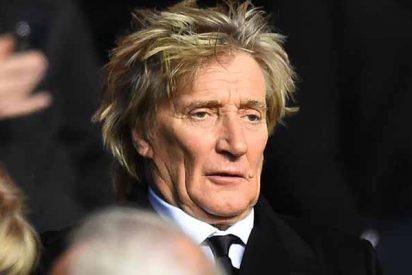 Denuncian a Rod Stewart por ponerse como una cabra y golpear a un guardia que le negó la entrada a una fiesta