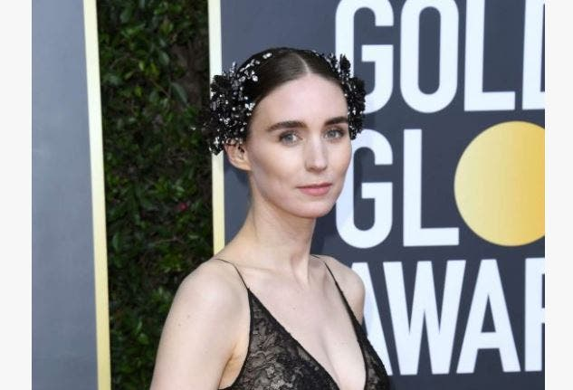 Rooney Mara Golden Globe Awards maquillaje
