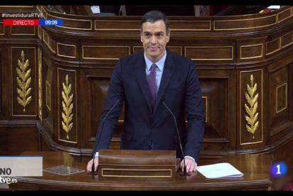 """Pedro Sánchez ensucia el debate de investidura con la primera gran mentira: """"España no se va a romper"""""""