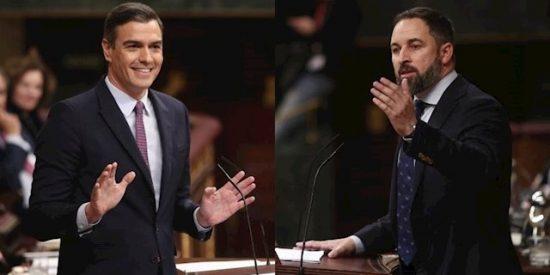"""Abascal sopapea a Sánchez: """"Usted es un mentiroso, un estafador y un villano"""""""