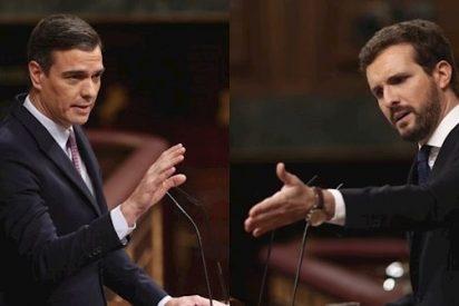 Casado denuncia la nauseabunda intervención de la bilduetarra Aizpurua con un Sánchez que inclina la cerviz