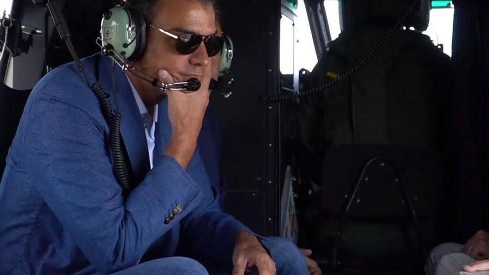 Pedro Sánchez quitó a la Guardia Civil el helicóptero con el que buscaba al joven desaparecido en Mallorca