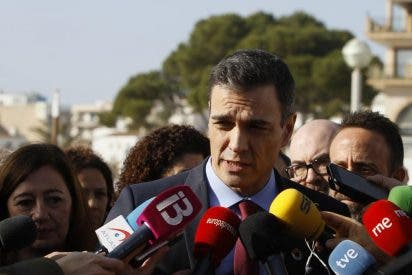 """Sánchez tira de prepotencia cuando le preguntan si mantendrá su reunión con el inhabilitado Torra: """"Hoy toca hablar del temporal"""""""