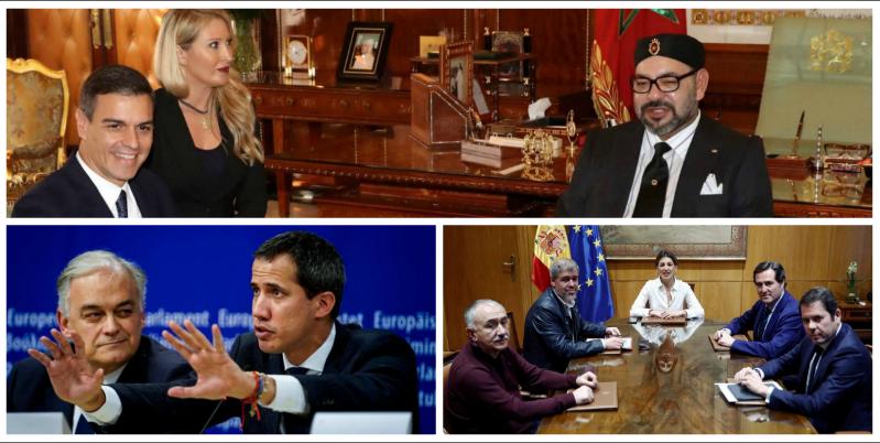 Sánchez perpetra tres gestos que dejan muy dañada la imagen de España a nivel internacional