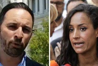 """Santiago Abascal (VOX) a Begoña Villacís (Cs): """"Si no vais a combatir a la izquierda totalitaria, no molestéis"""""""