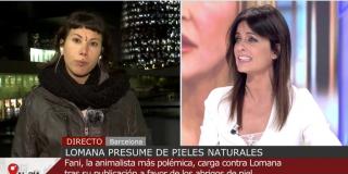 El Quilombo / Cristina Seguí le recuerda a Fani 'La Vegana' su indecente apoyo al asesino Rodrigo Lanza: