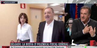 El Quilombo / La tropa 'sanchista' de Ferreras se queda sola defendiendo a Dolores Delgado, la amiga de Villarejo y 'Balta'