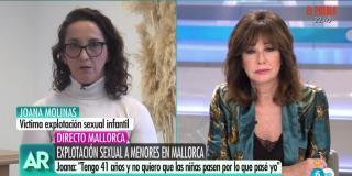 El Quilombo / El desgarrador testimonio de una víctima de explotación sexual infantil deja en bragas a la feminista Irene Montero