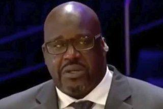 El discurso de un Shaquille O'Neal totalmente 'roto' recordando a Kobe Bryant
