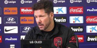Crisis Atlético - Simeone:
