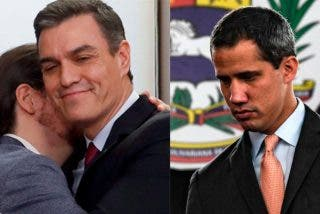 Oficial: Pedro Sánchez evita 'tomarse la foto' con Guaidó para no molestar a Iglesias