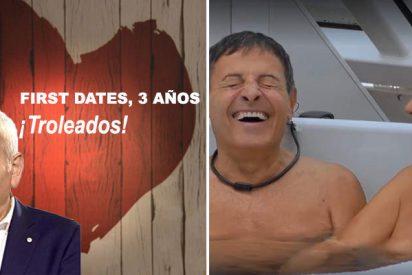 First Dates, ¡estafados! Los dos sexagenarios que engañaron al programa para pasearse en pelotas ante toda España