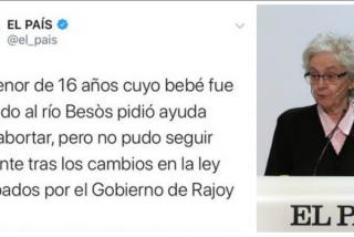 Los tuiteros condenan a El País por su tremenda bestialidad contra Rajoy y que luego quiso borrar a toda prisa