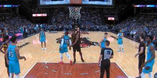 NBA: Tristan Thompson de los Cavaliers expulsado… ¡por dar una palmadita en el trasero a un rival!