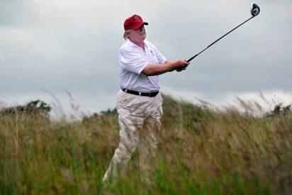 Donald Trump ha jugado al golf 252 días desde que está en la Casa Blanca