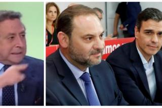 """Ussía acorrala al """"payaso"""" Ábalos y al """"mentiroso"""" Sánchez por la reunión con la número dos de Maduro"""