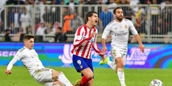 El Real Madrid gana al Atlético la Supercopa 'árabe' en los penaltis: 4-1