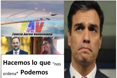 """Manuel del Rosal: """"Pedro Sánchez: Entregado a Podemos…sin condiciones"""""""