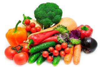 Comer el 75% de los alimentos diarios 21 vegetales