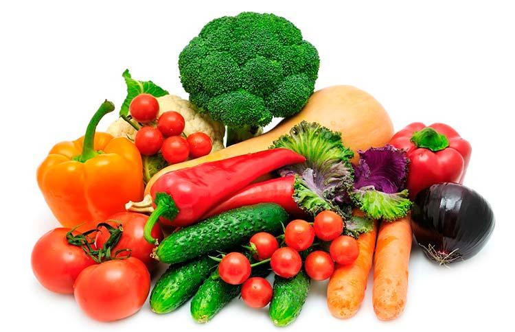 Comer el 75% de los alimentos diarios vegetales