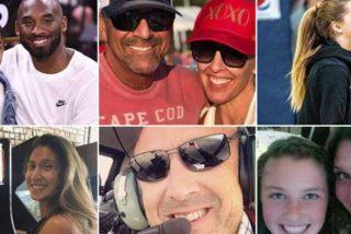 Kobe Bryant: estas son todas las víctimas que murieron en el accidente del helicóptero
