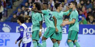 Vinicius ilusiona al Madrid con un golazo en la aplastante victoria ante el Zaragoza
