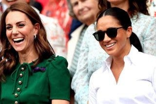 Meghan Markle y Kate Middleton inician una 'guerra' en la Familia Real británica
