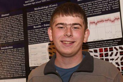 NASA: un becario de 17 años descubre un planeta en su tercer día de prácticas
