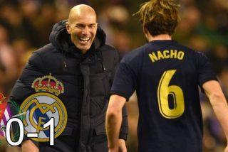 Real Madrid: el olfato de Zidane y la cabeza de Nacho colocan a los blancos líderes de la Liga