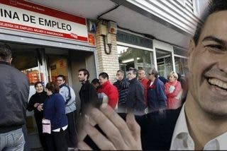 Paro: Sánchez coronará su investidura con el peor dato de empleo desde la crisis