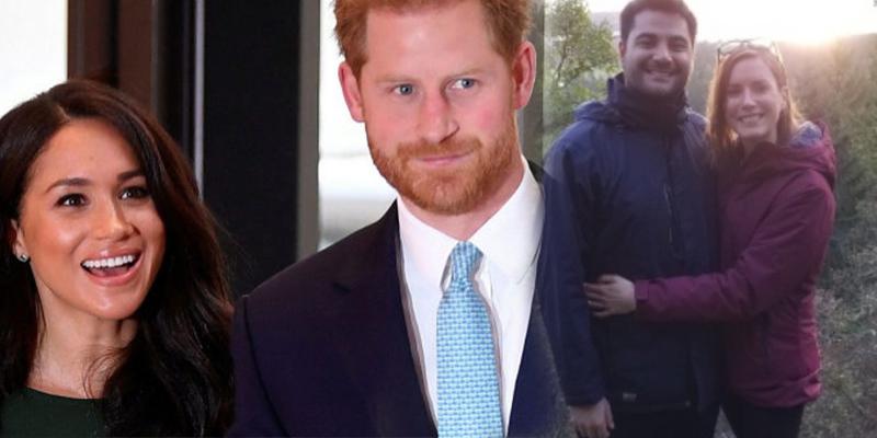 Esta pareja pide ayuda a unos desconocidos para fotografiarse y luego descubren que eran el príncipe Enrique y Meghan Markle