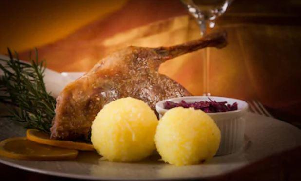 Albóndigas de patatas alemanas, Kartoffelknödel