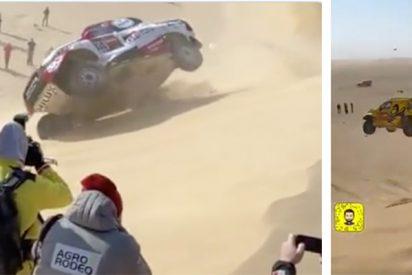 Fernando Alonso sale mejor parado accidentado que otro piloto que voló en su misma duna
