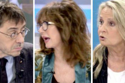 Espectacular 'azotaina' de Isabel San Sebastián y Ana Rosa a 'la ministra Monedera'