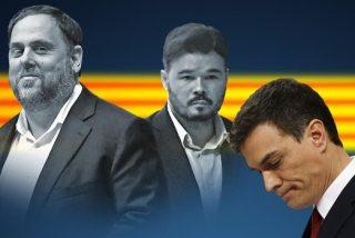 """Pedrojota retrata a Sánchez: """"Como el protagonista de 'El Sirviente', está sometido a Rufián (ERC)"""""""