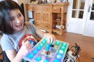 Un padre crea un mando de Nintendo 'ad hoc' a su hija con discapacidad