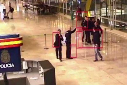 Madrid: La Policía Nacional salva a una bebé que se asfixiaba en Barajas