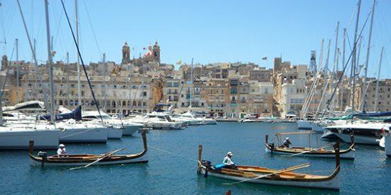 Puerto de La Valetta, Malta