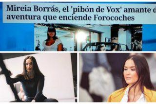 VOX estalla ante la cosificación sexual a la que ciertos medios han sometido a su diputada Mireia Borrás