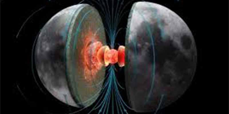 Por qué la Luna perdió su campo magnético y qué tiene que ver la Tierra