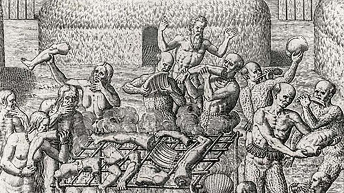 Cristóbal Colón no era racista: la ciencia demuestra que los indios eran caníbales