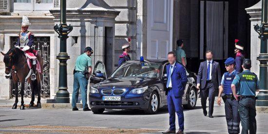Malestar entre los Guardias Civiles que prestan servicio en la Casa de S.M el Rey
