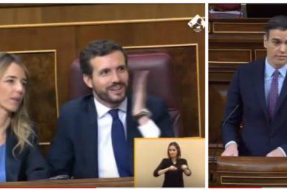 """Sánchez propone luchar contra las mentiras y el Congreso estalla en una estruendosa carcajada: """"¡Caradura!"""""""
