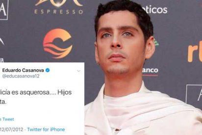 """El Burladero / Edu Casanova, el que exigía subvenciones al Gobierno para construir """"cultura antifascista"""", llama """"hijos de puta"""" a la Policía"""